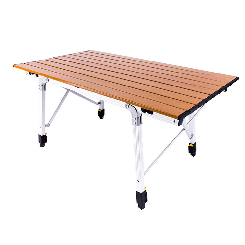 LBAFS Im Freien Tragbarer Tabellen-Aluminiumklapptisch Im Freien Für Grill-Familien-Party-kampierende Reise,B