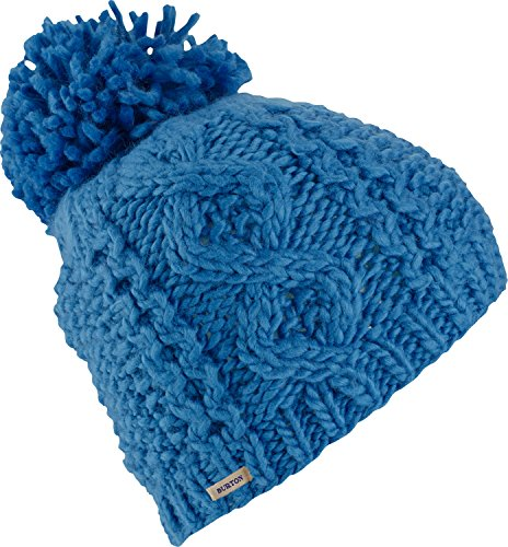 Burton Women's Katie Joe Beanie, Bright Cobalt, One Size (Burton Womens Hat)