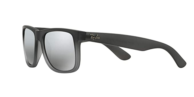 ebe2c64794 Amazon.com  Ray-Ban RB4165 Justin Sunglasses Matte Grey w Silver ...