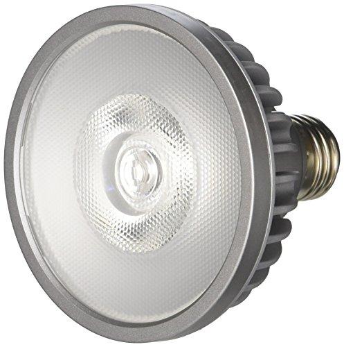 Bulbrite SP30S-18-25D-830-03 SORAA 18.5W LED PAR30S 3000K PREM. 25° Dimmable Light Bulb, Silver by Bulbrite