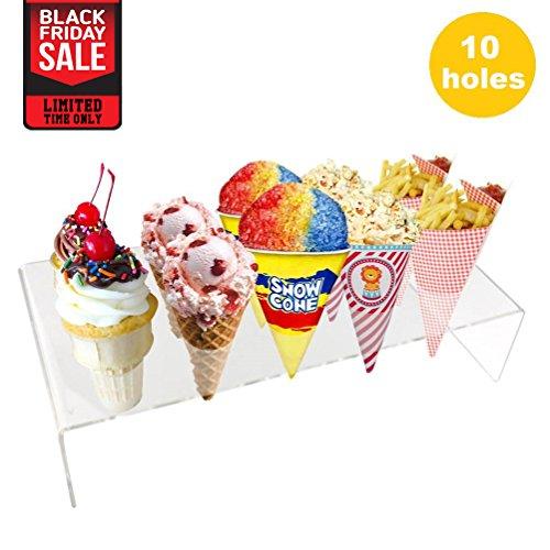 ice cream cone holder metal - 2