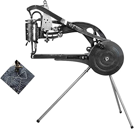 ETE ETMATE Hand Machine Cobbler Shoe Repair Machine Dual Cotton Nylon Line Sewing Machine