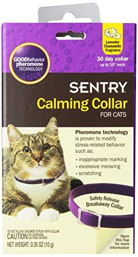Sentry Calming Collar Cats Count