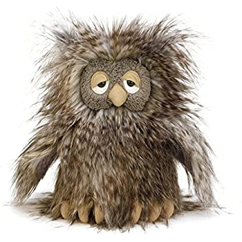 Jellycat Mad Pet Orlando Owl, 9 inches