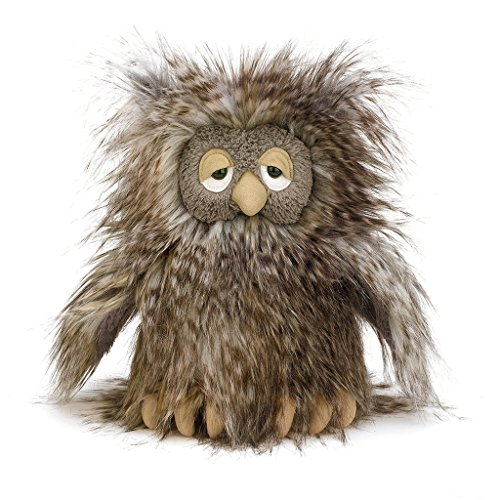 Jellycat Mad Pet Orlando Owl, 9 inches (Stuffed Owl Animal Large)