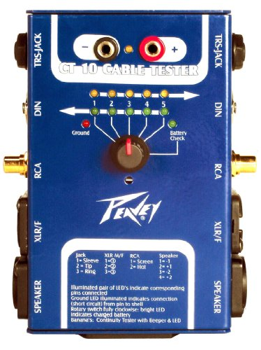 Balanced Cable Tester - Peavey CT-10 Cable Tester