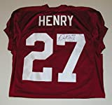 Derrick Henry Signed Autographed Auto Alabama Crimson Tide Football Jersey - #27