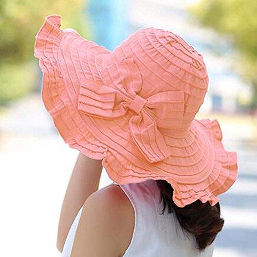 Koala Superstore UV Protection Summer Sun Hats for Women Visor Hats Wide Brim Cap by Koala Superstore (Image #1)
