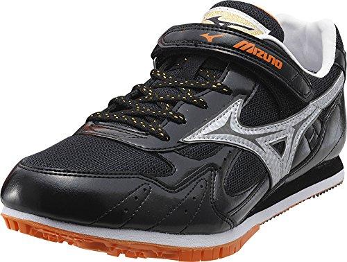 Mizuno - Zapatillas de atletismo de Material Sintético para hombre Nero/Arancio