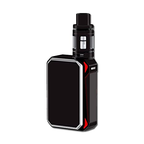 Review Skin Decal Vinyl Wrap for Smok G-Priv 220W Vape Mod stickers skins cover/ Solid Black