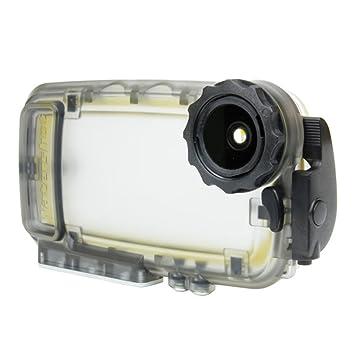 Watershot WSSP5-001 - Carcasa acuática para Apple iPhone 5/5S/5C, Color Negro