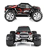 Kids Toy DZT1968 Wltoys A979 1:18 2.4G 4WD RC shockproof Truck 50KMH High Speed Racing Truck (black)