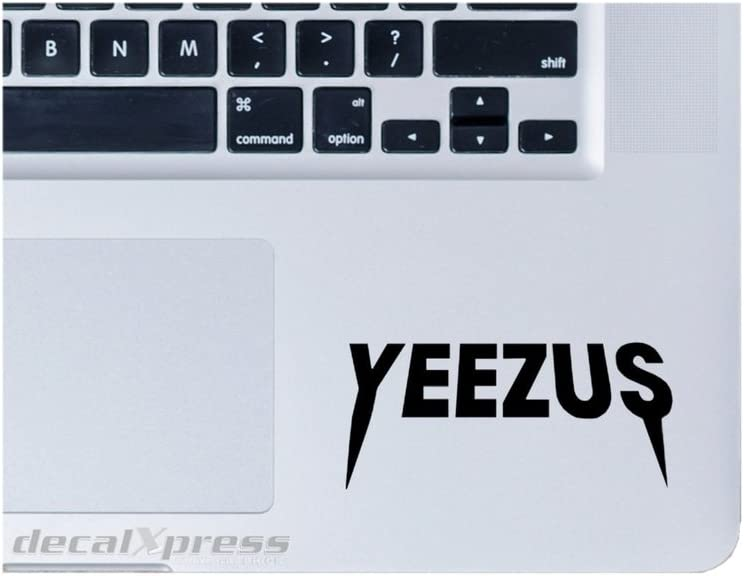 Yeezus Yeezy Trackpad- Decal Sticker for MacBook, Air, Pro All Models