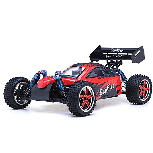 Exceed RC 1/10th 2.4Ghz Brushless PRO 2.4Ghz Electric SunFire RTR Off Road Buggy (DD Red)