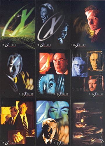X-FILES MOVIE FIGHT THE FUTURE 1998 TOPPS COMPLETE for sale  Delivered anywhere in USA