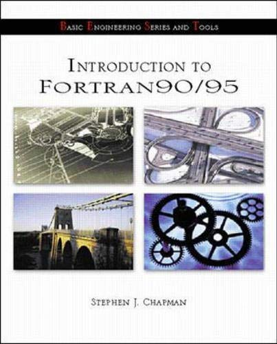 Introduction To Fortran 90/95 (B.E.S.T. Series)