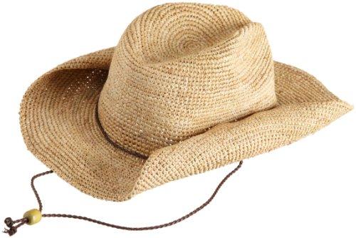San Diego Women's Crocheted Raffia Cowboy Hat