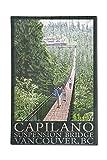 British Columbia, Canada - Capilano Suspension Bridge (12x18 Premium Acrylic Puzzle, 130 Pieces) offers