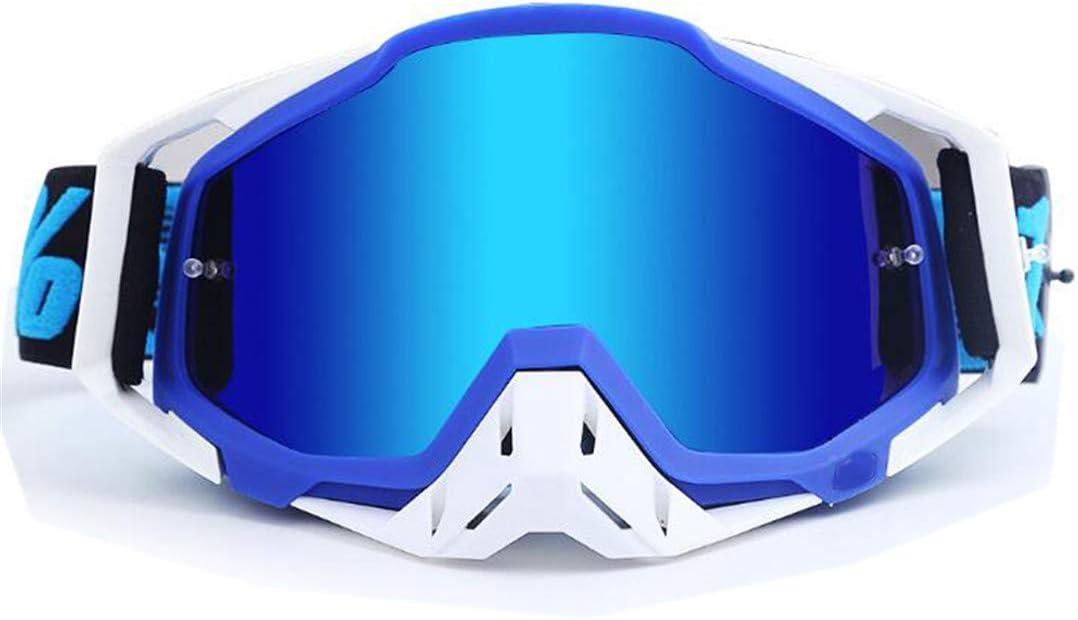 H-MetHlonsy Gafas Motocross Gafas ATV Motocicletas Gafas Ski MX Gafas Off Road Moto Deporte al Aire Libre Gafas de Ciclismo