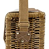 Picnic Time Corsica Insulated Wine Basket with Wine