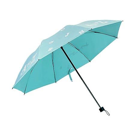 Volwco - Paraguas con Cambio de Color reactivo, 8 Varillas ...