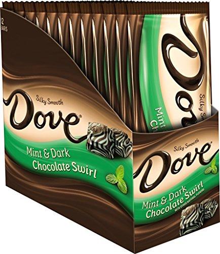 Dove Dark Chocolate Mint Swirl Sharing Size Candy Bar 3.3...