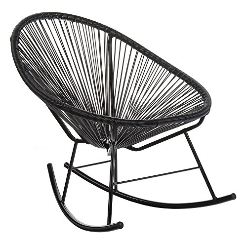 Acapulco Outdoor Rocking Chair – Black Cord