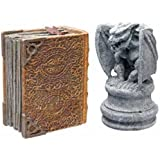 Hydor H2Show Magic World - Gargoyle and Book Decoration Combo Pack