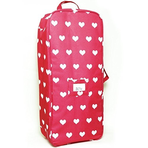 Doll Travel Case Suitcase Storage Bag For 18 Inch Dolls