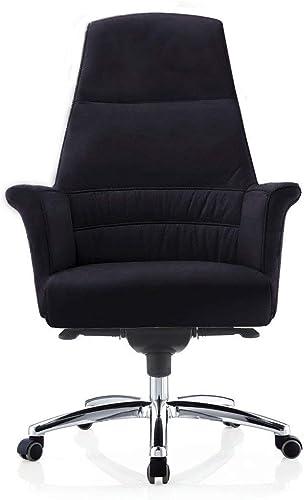 Editors' Choice: Geffen Genuine Leather Aluminum Base High Back Executive Chair