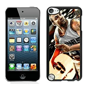 New Custom Design Cover Case For iPod Touch 5th Generation San Antonio Tony parker 2 Black Phone Case