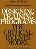 Designing Training Programs, L. Nadler, 0201051680