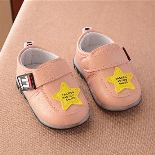 Schuhe leuchtende Sport Sneakers Running Baby Schuhe Herbst Kleinkind Mädchen Jungen Rosa Hunpta xXqSaZnX