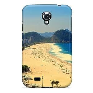 Hot Covers Cases For Galaxy/ S4 Cases Covers Skin - Copacabana Beach Rio De Janeiro Brazil