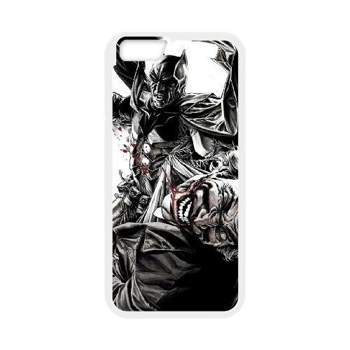 Batman Joker coque iPhone 6 4.7 Inch Housse Blanc téléphone portable couverture de cas coque EBDOBCKCO09298
