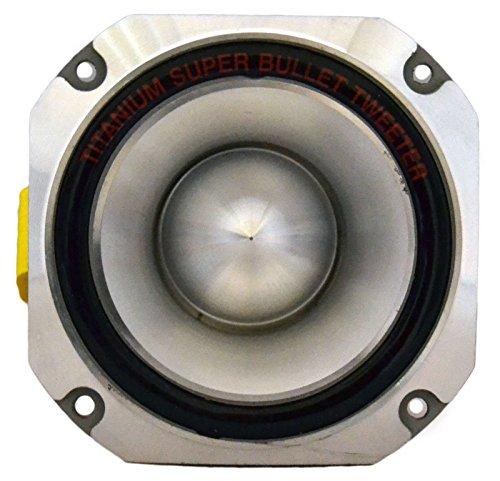 -2- QuestAudio Pro Series 3000W Titanium 4″ Bullet Car Pro Super Tweeter PT-01