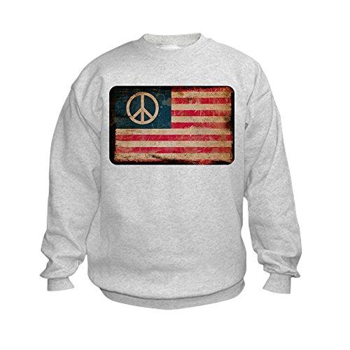 Peace Sign Kids Sweatshirt - 9