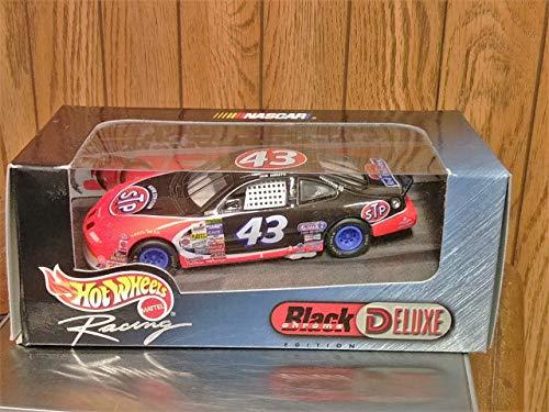 - 1999 Hot Wheels Racing Black Chrome Orange Deluxe 1:43#43 STP John Andretti NIB