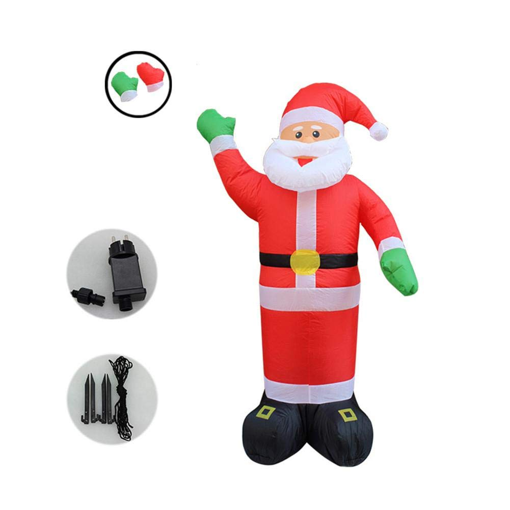 Christmas Decorations Welcome Elderly Christmas Inflatable Old Man Ornaments