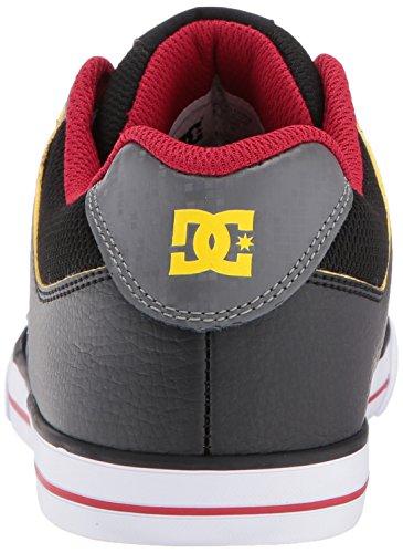 DC Unisex-Kind Pure Elastic Se Schuhe Grey/Black/Red