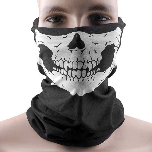 Hitaocity New Skeleton Ghost Skull Face Mask Biker Balaclava Call of Duty COD Costume Game