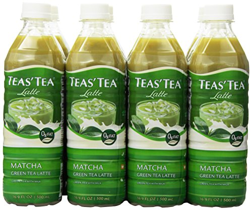 : Teas' Tea Matcha Green Tea Latte, 16.9 Ounce (Pack of 12) Packaging May Vary