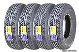 4 New Premium WINDA Trailer Tires ST235/80R16 Radial 10PR Load Range E w/Featured Scuff Guard