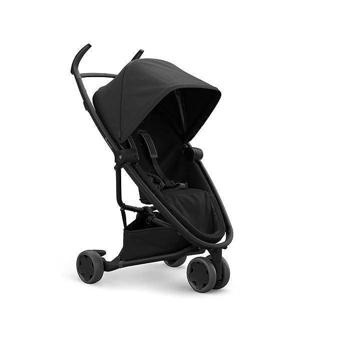 Quinny ZAPP FLEX Black on Black - Silla de paseo, desde los 6 meses a los 3,5 años, color negro sobre negro
