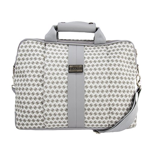 13.3 to 14 inch Laptop Shoulder Bag for Work College for HP EliteBook, ProBook, Spectre (Hp Probook 650 G1 Hard Drive Removal)
