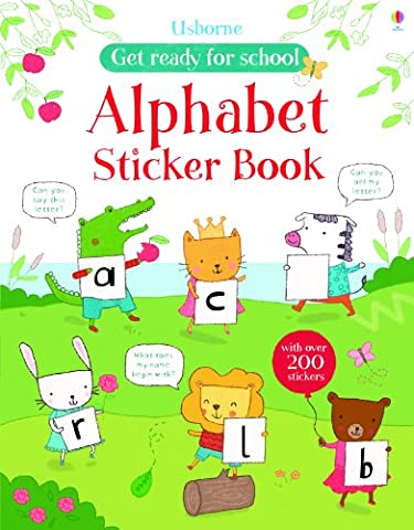 Alphabet Sticker Book (Get Ready for School Sticker (Abc Sticker Book)