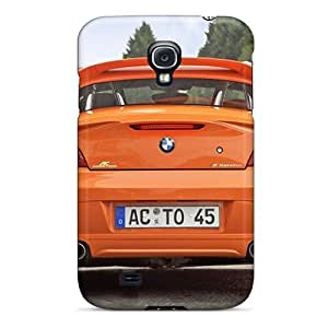 Hard Plastic Galaxy S4 Cases Back Covers,hot Orange Bmw Ac Schnitzer V8 Topster Rear Cases At Perfect Customized
