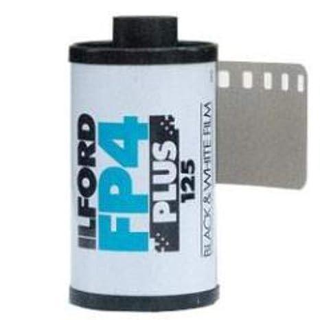 Ilford FP4 PLUS - Película fotográfica en blanco y negro