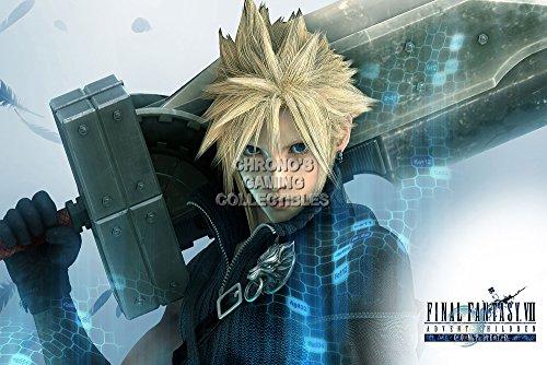 Final Fantasy CGC Huge Poster VII Advent Children Cloud Strife PS1 PSP - FVII003 (16