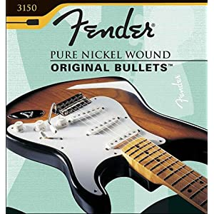 Fender 150 Nickel Wound Original Bullets Electric Guitar Strings11-49